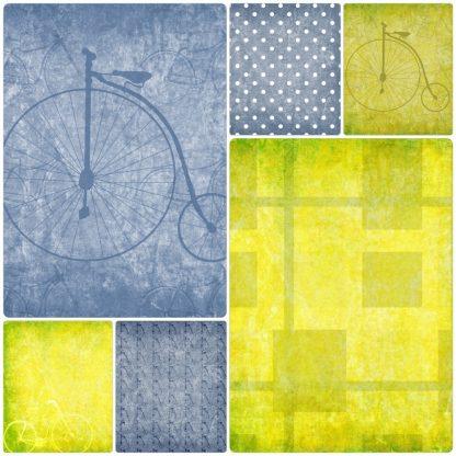vintage-bikes-digital-backgrounds. scrapbooking, craft , paper craft