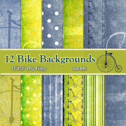 vintage-bike-digital-backgrounds,scrapbooking. paper craft, craft