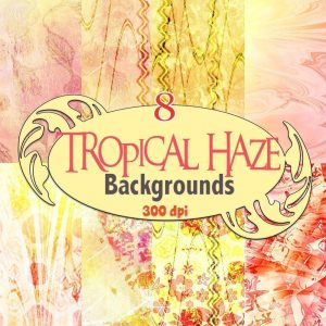 tropical-haze-digital-backgrounds,digital download, scrapbooking, paper craft, card making