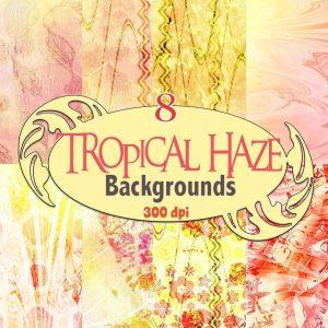 tropical-haze-digital-backgrounds,digital download, scrapbooking, paper craft, card making