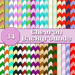 Chevron backgrounds, digital downloads