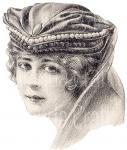 Vintage Lady,scrapbooking, paper craft, card craft