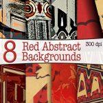 red-abstract-digital-backgrounds,digital downloads, scrapbooking, card making, paper craft, digital download