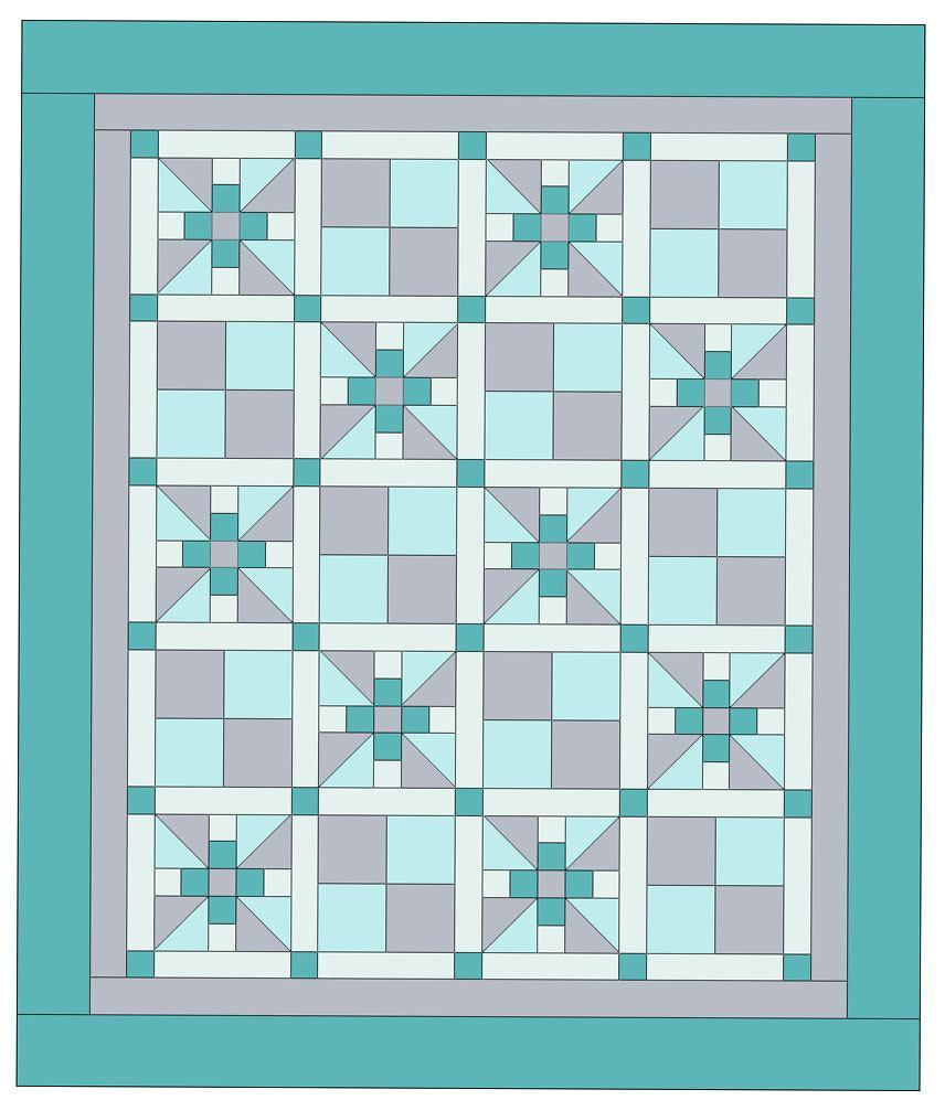 snuggle-blossom-crib-quilt pattern