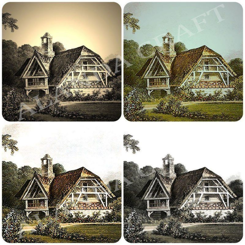 vintage-cottage-digital-download, photo-transfer, scrapbooking, paper-craft