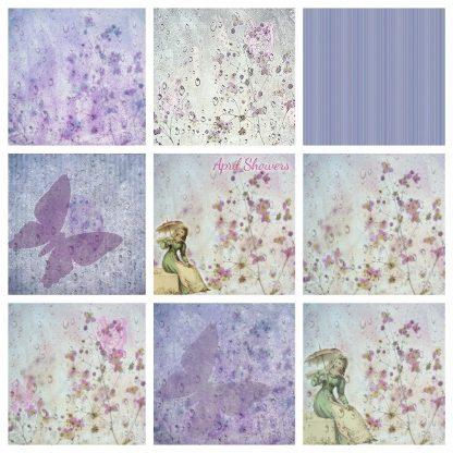 vintage-floral-digital-backgrounds,digital downloads, scrapbooking, paper craft, card making