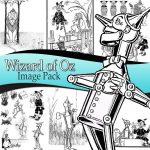 wizard-oz-images,scrapbooking, craft, paper craft, card making