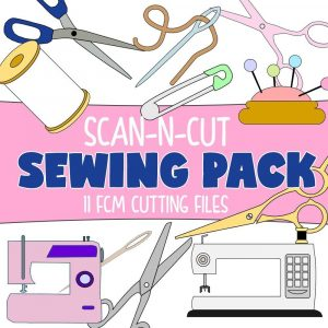 scanncut cutting files - sewing pack - fcm files