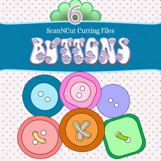 scanncut, cutting files, buttons