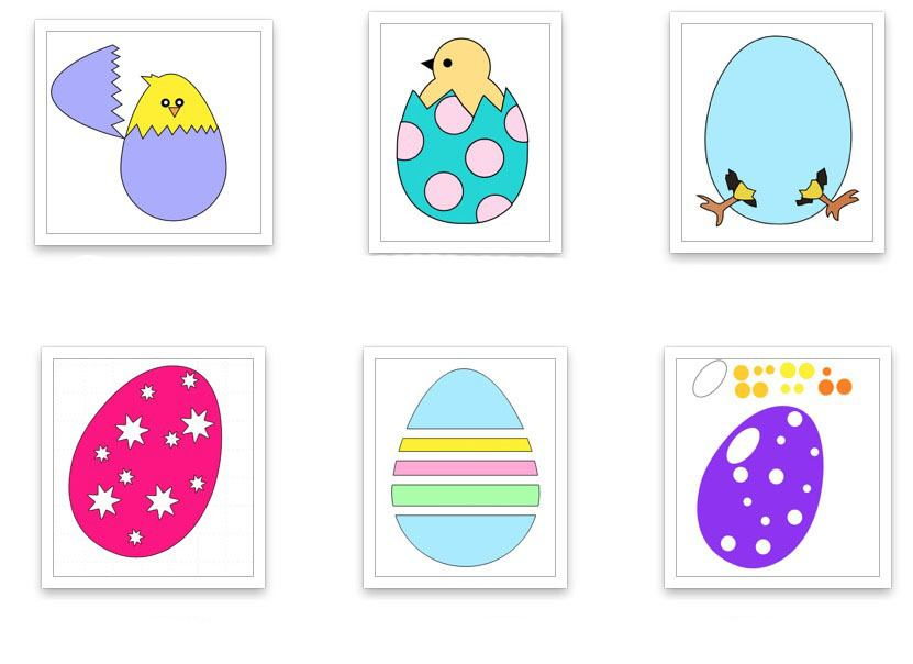 Scan n Cut Easter Egg Cutting Files