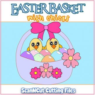 Easter Basket ScanNCut Cutting Files