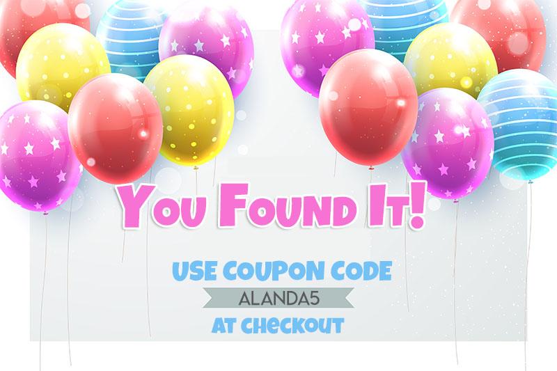 alanda online coupon code